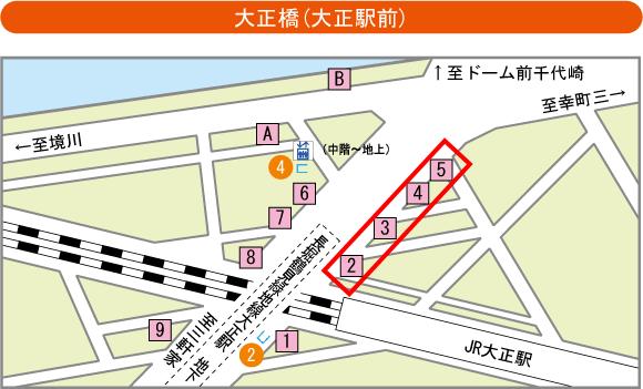 大正駅バス停